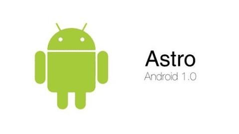 Astro adalah nama Android A