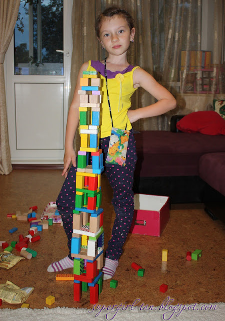 деревянный конструктор блоки