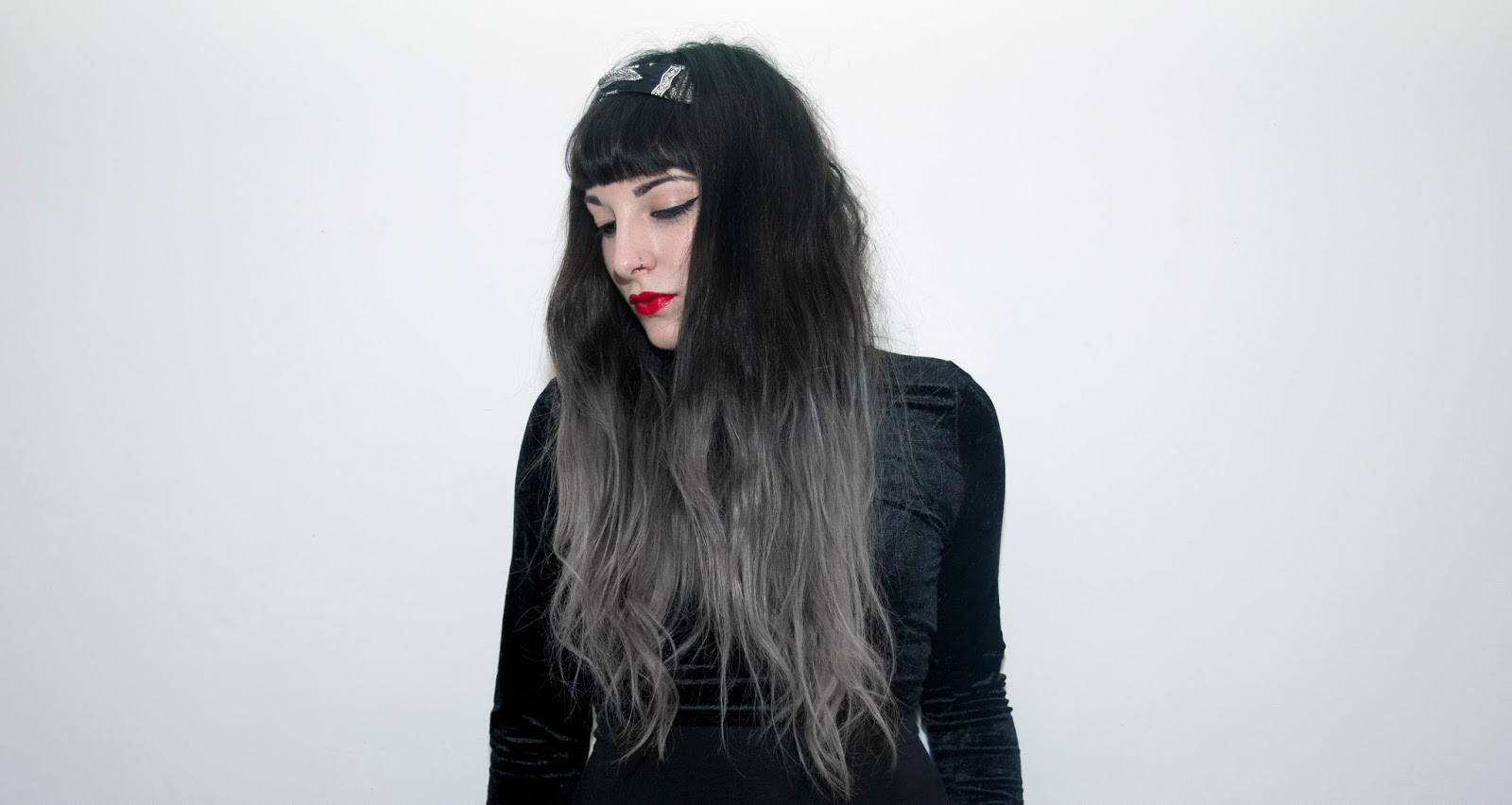 Center diy grey ombre hair center amy stardust i was so happy that the product worked as it is such a simpler way to get to grey than through the use of toner and semi permanent products solutioingenieria Gallery