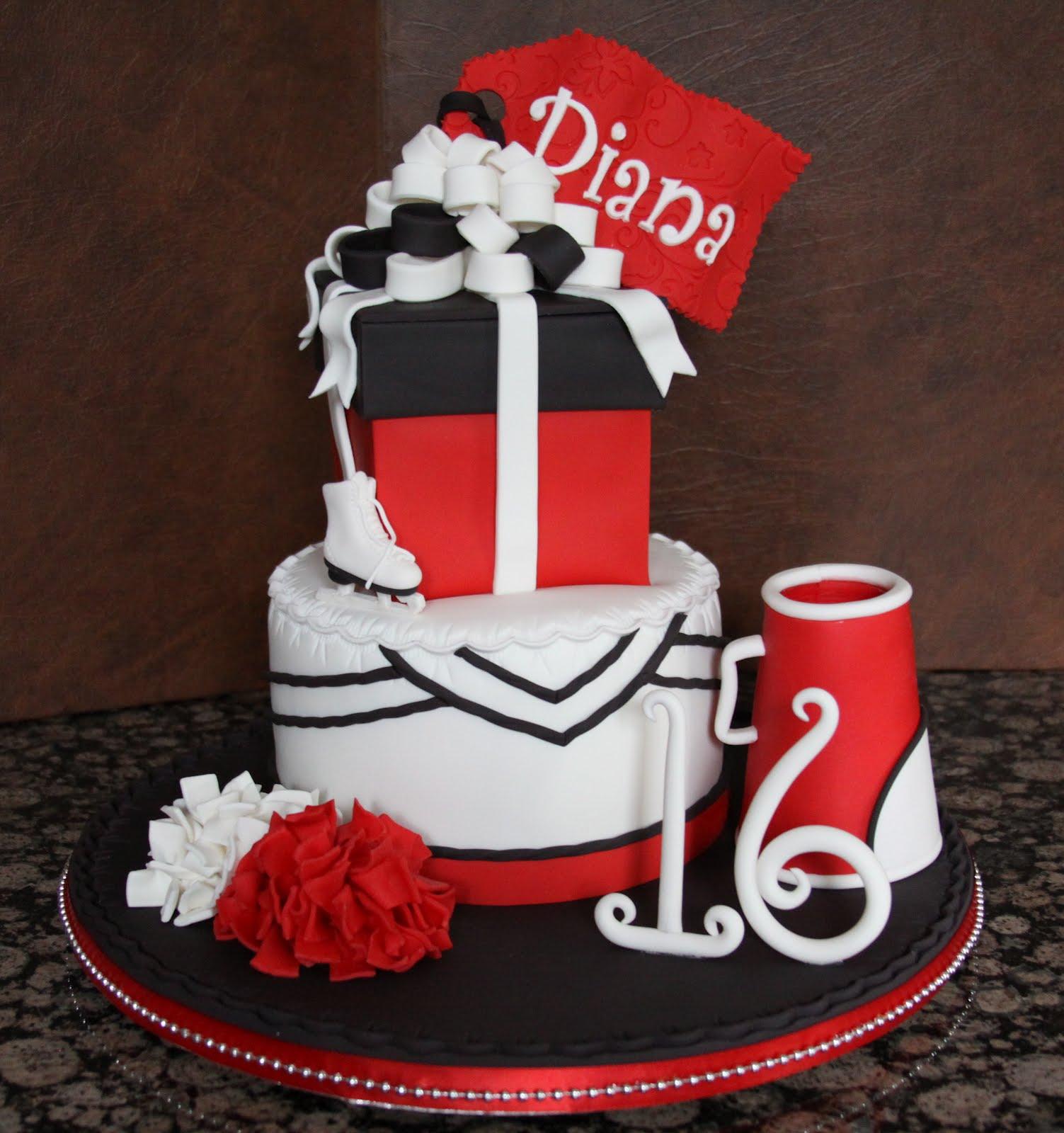 Cheerleader Birthday Cakes Images