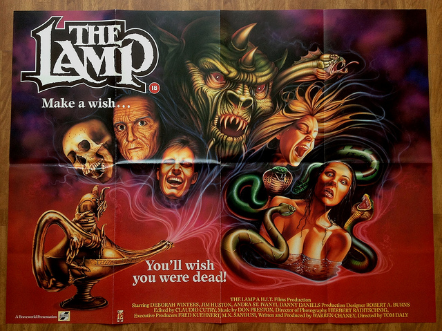 80's Horror Movies: The Lamp (1987) A K A  -