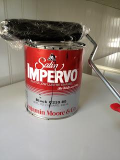 benjamin moore satin impervo enamel paint