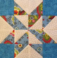 making a star quilt