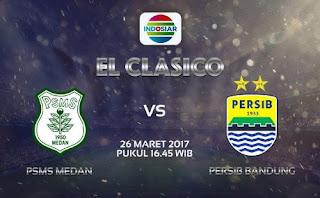 PSMS vs Persib Minggu 26 Maret 2017 Live Indosiar Pkl. 16.30 WIB