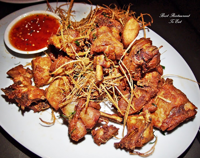 Deep Fried Chicken With Lemon Grass