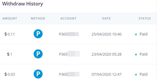 argonclick withdraw history