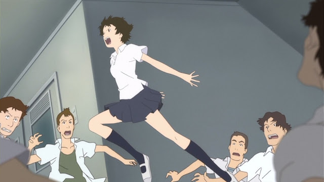 Makoto Anime The Girl Who Leapt Through Time
