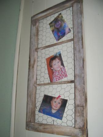 Country Kids: Barn Window Picture Frame