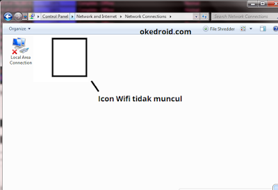Icon Wifi tidak muncul Windows 7