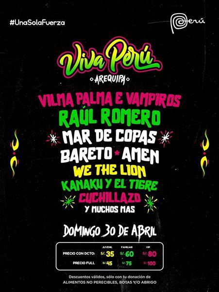 Viva Peru 2017 Arequipa