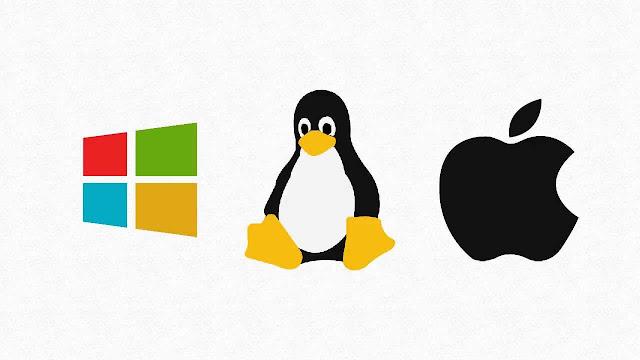 Persaingan Windows, Linux, dan Mac OS