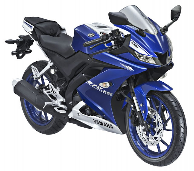 New 2017 Yamaha R15 V3 side view image
