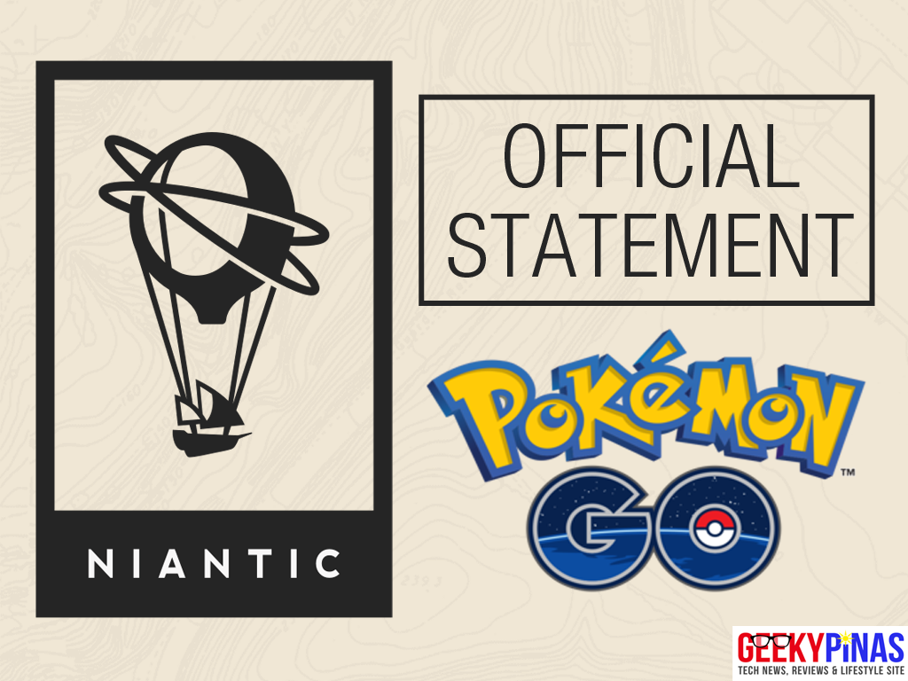 Niantic Labs Official Statement regarding Pokemon GO SEA release