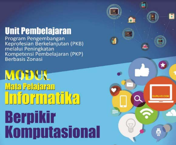 GAMBAR modul PKP Guru Informatika SMP