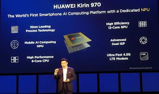 Huawei  Kirin 970 chipset rainingdeal