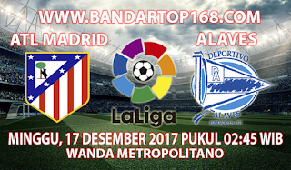 Prediksi Atletico Madrid vs Alaves 17 Desember 2017