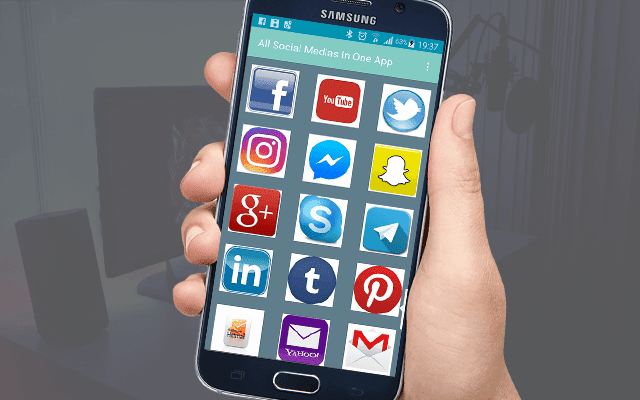 Download now the best three applications where the collection of social networking applications and maintain the consumption of phone materials and battery