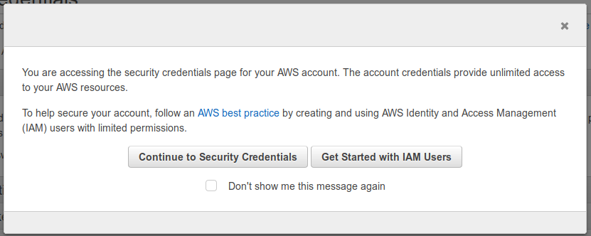 Run like Hell: AWS: Installing aws cli (Amazon Web Service Commandline)