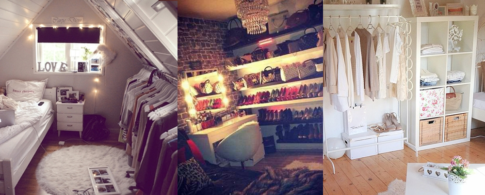 begehbarer kleiderschrank tumblr. Black Bedroom Furniture Sets. Home Design Ideas