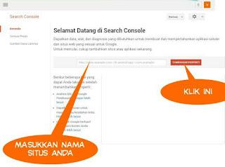 Cara Lengkap Mendaftarkan Blog Pada Webmaster Tools Dan Cara Verifikasinya.