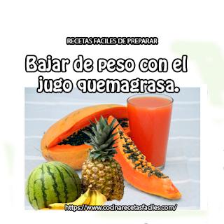 piña,papaya,sandía,plátano,agua