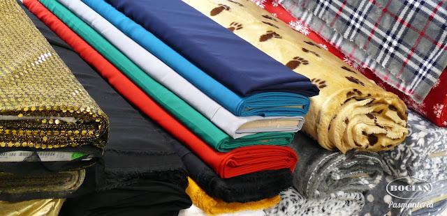 Zimowe tkaniny i dzianiny