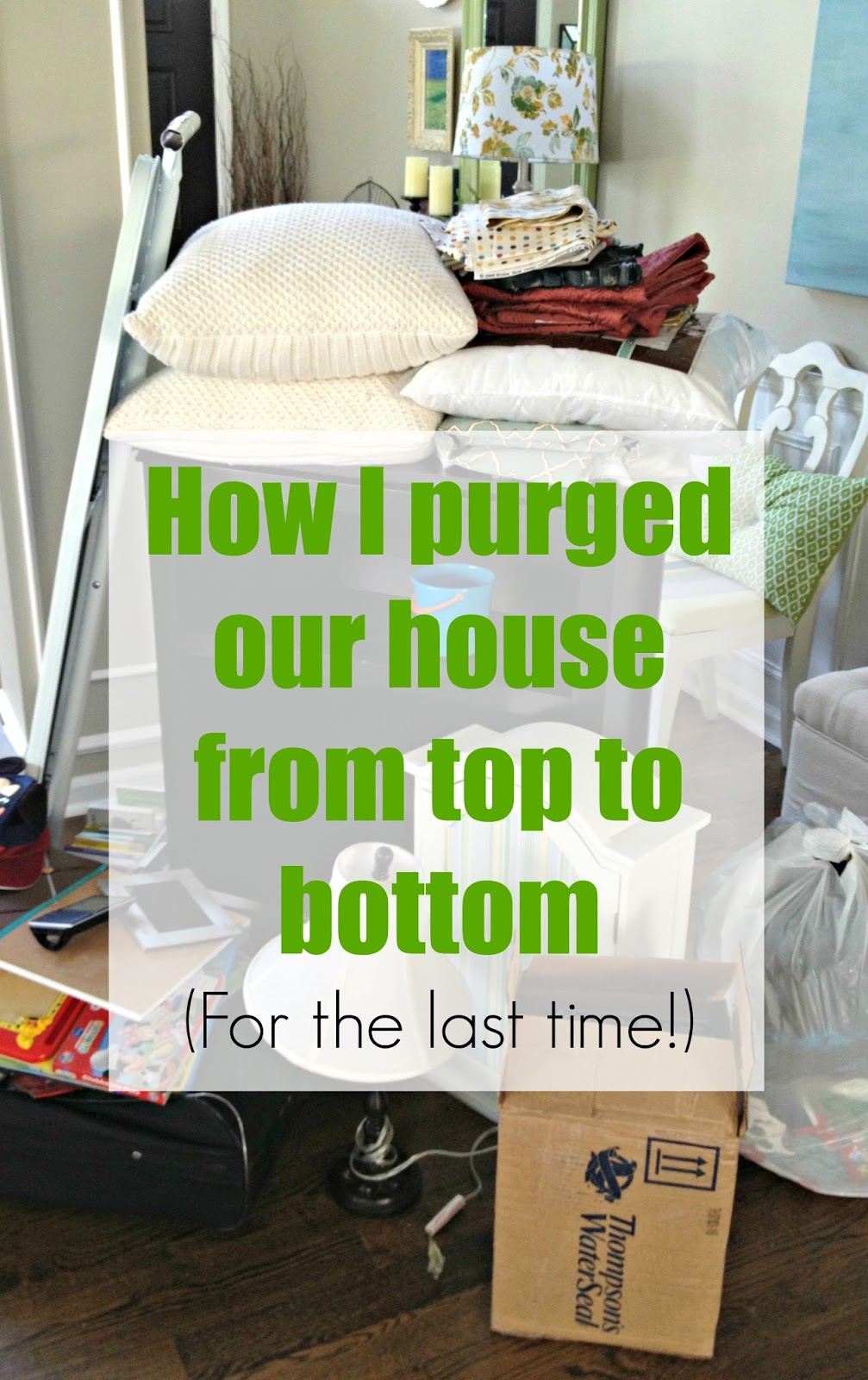 how to clean and declutter your house