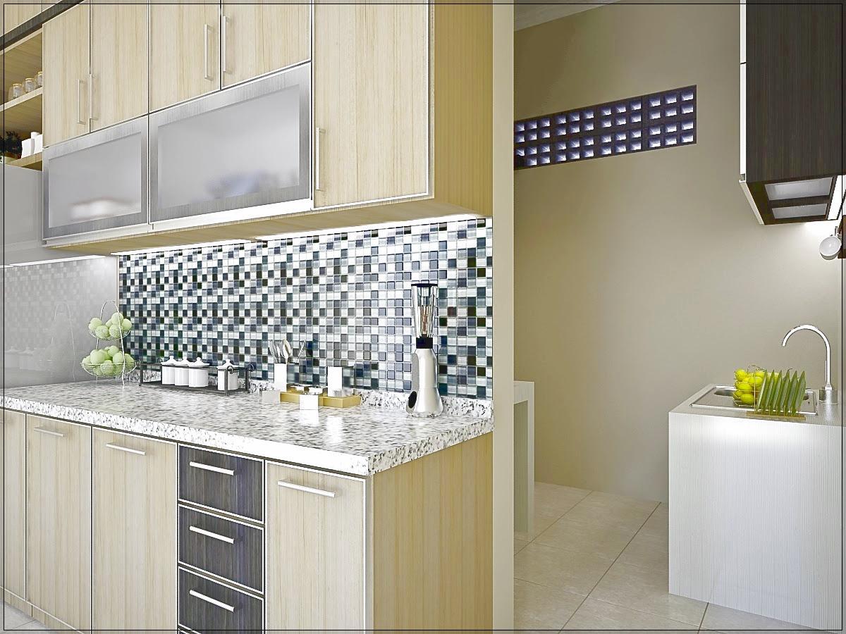 Dapur Rumah Minimalis Yang Bersih Dan Yang Kotor