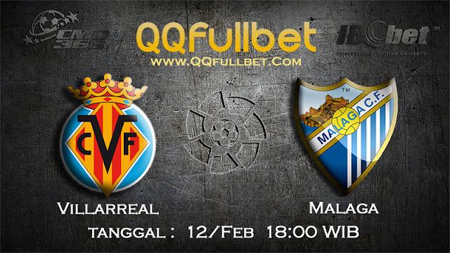 PREDIKSIBOLA - PREDIKSI TARUHAN VILLARREAL VS MALAGA 12 FEBRUARI 2017 (LA LIGA SPANYOL)