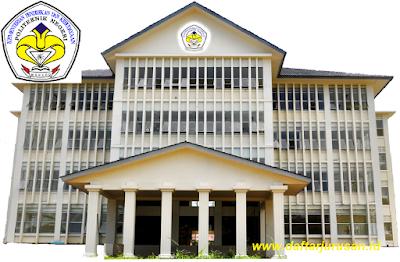 Daftar Program Studi / Jurusan POLIMDO Politeknik Negeri Manado