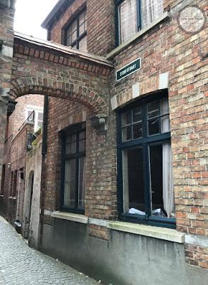 Rua Stoofstraat Bruges Bélgica