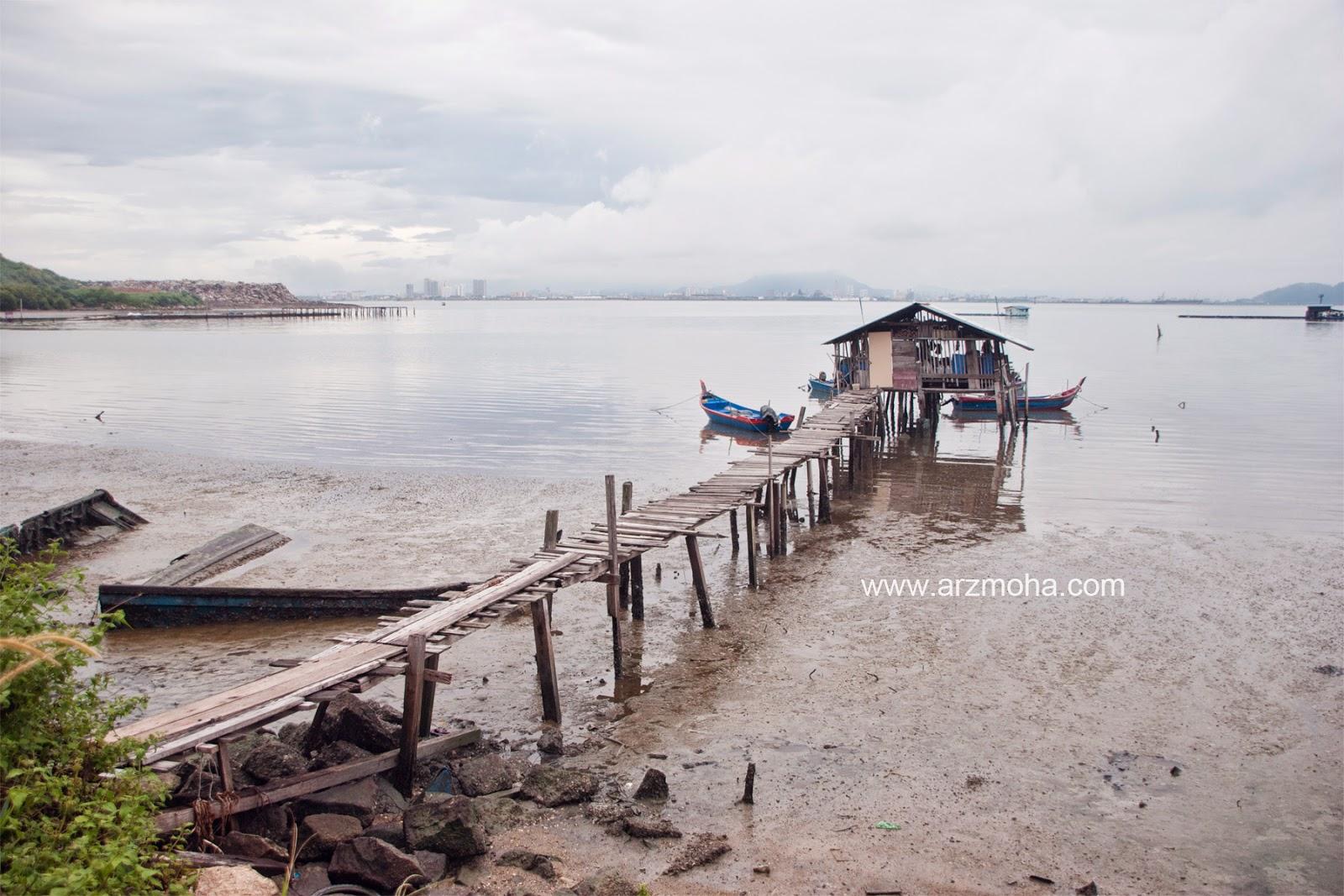 Jeti, Nelayan, gambar cantik, arzmoha, pulau pinang, landscape