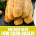 The Best Keto Low Carb Garlic Breadsticks