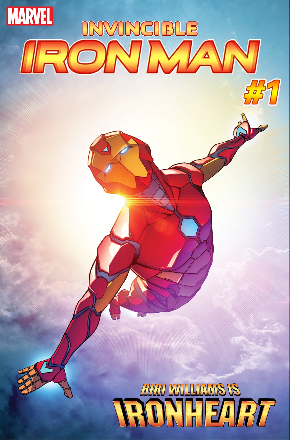 Riri's IronHeart Replaces Tony Stark As The New Iron Man