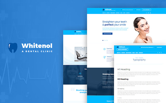 Dentistry Clinic WordPress Theme