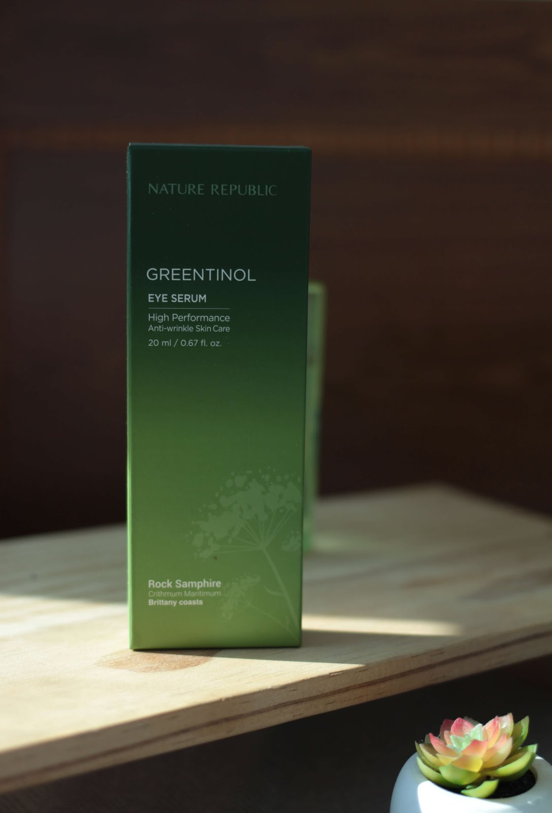 nature republic greentinol eye serum