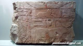 Peça egípcia do Museu Barraco de ROma