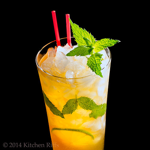 The Queen's Park Swizzle Cocktail