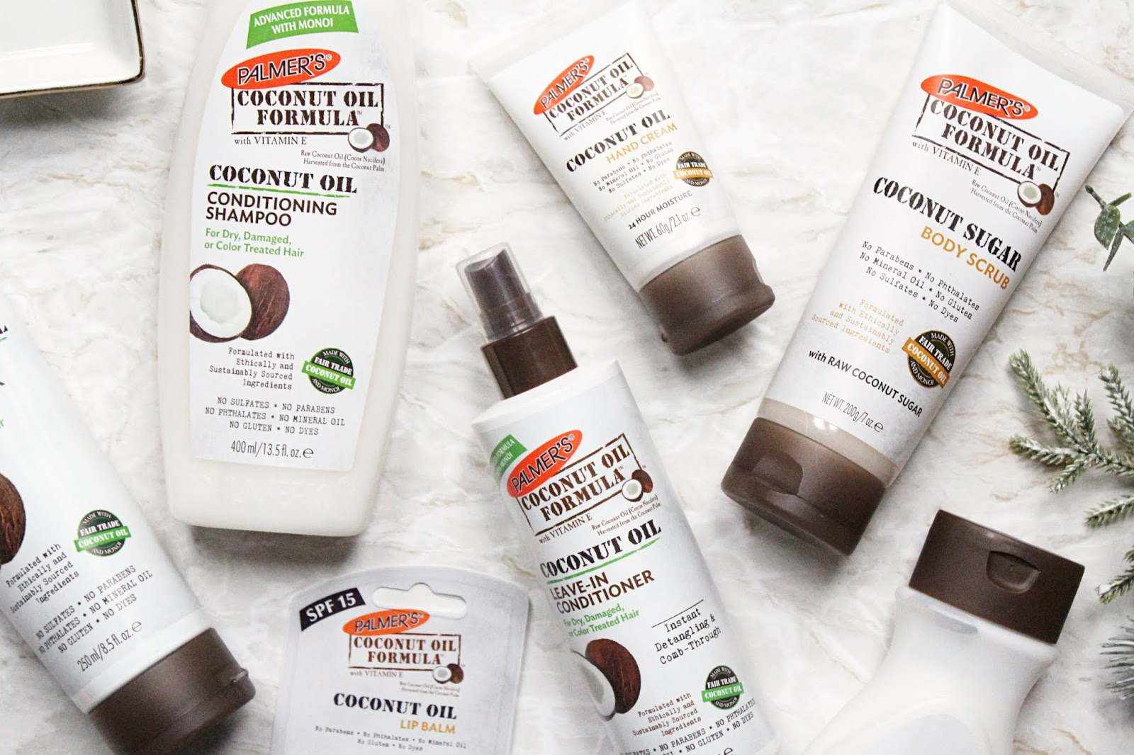 Palmers Coconut Oil Range