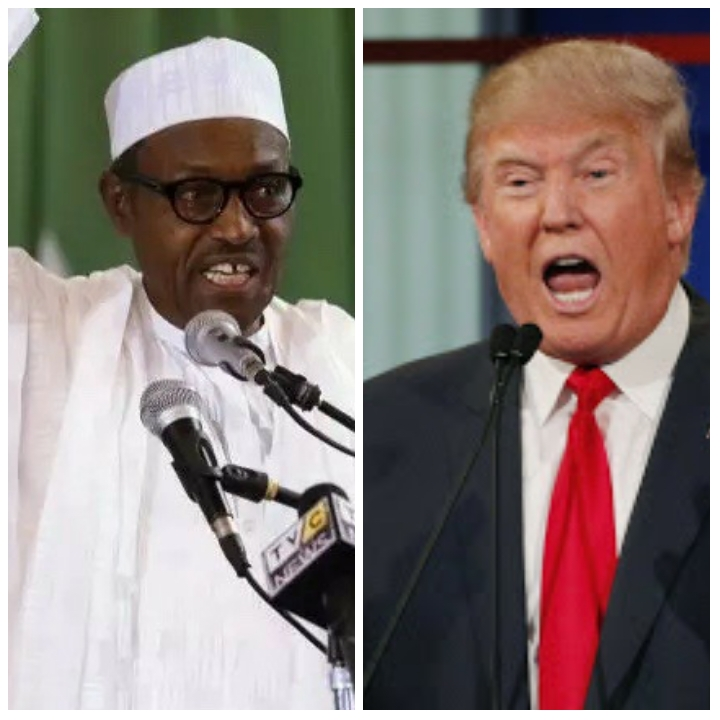 UNBELIEVABLE!!! SEE THE BUSINESS SIGN POST WITH DONALD TRUMP SIGHTED IN ONITSHA – WHAT THEY WROTE WILL SHOCK YOU (PHOTOS)