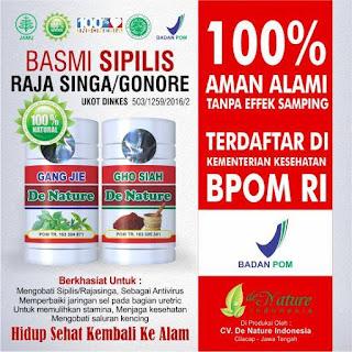 Agen Obat Herbal Sipilis De Nature di Yogyakarta (Aman dan Terpercaya)