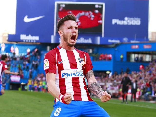Saul Akan Tetap Bertahan Untuk Atletico Madrid