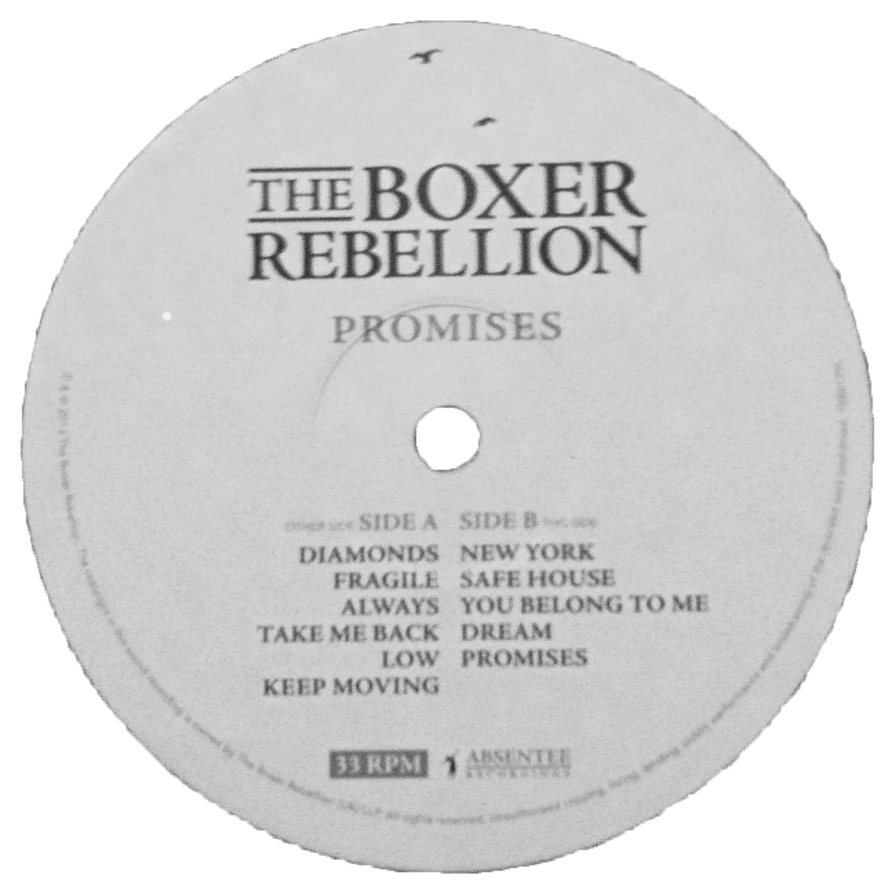 My Personal Record Guide The Boxer Rebellion Promises