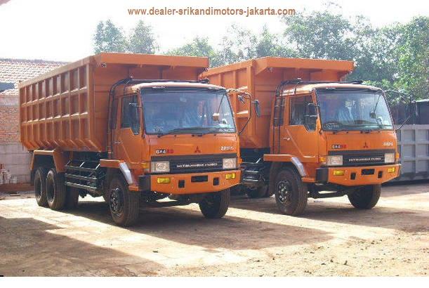 dump truck indek 24m kubik mitsubishi fuso 2019