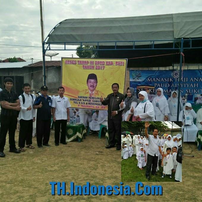 H Mulyanto, SH. MH Tokoh Dari Sukolilo Yang Bersahaja Dan Sangat Peduli Dengan Dunia Pendidikan