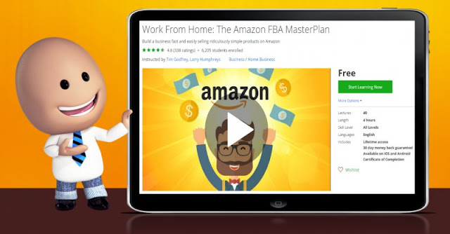 [100% Off] Work From Home: The Amazon FBA MasterPlan  Worth 0$