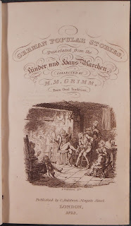 Title page to Grimm, 1823