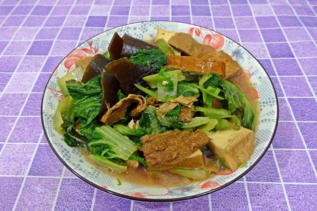 素食滷味盤