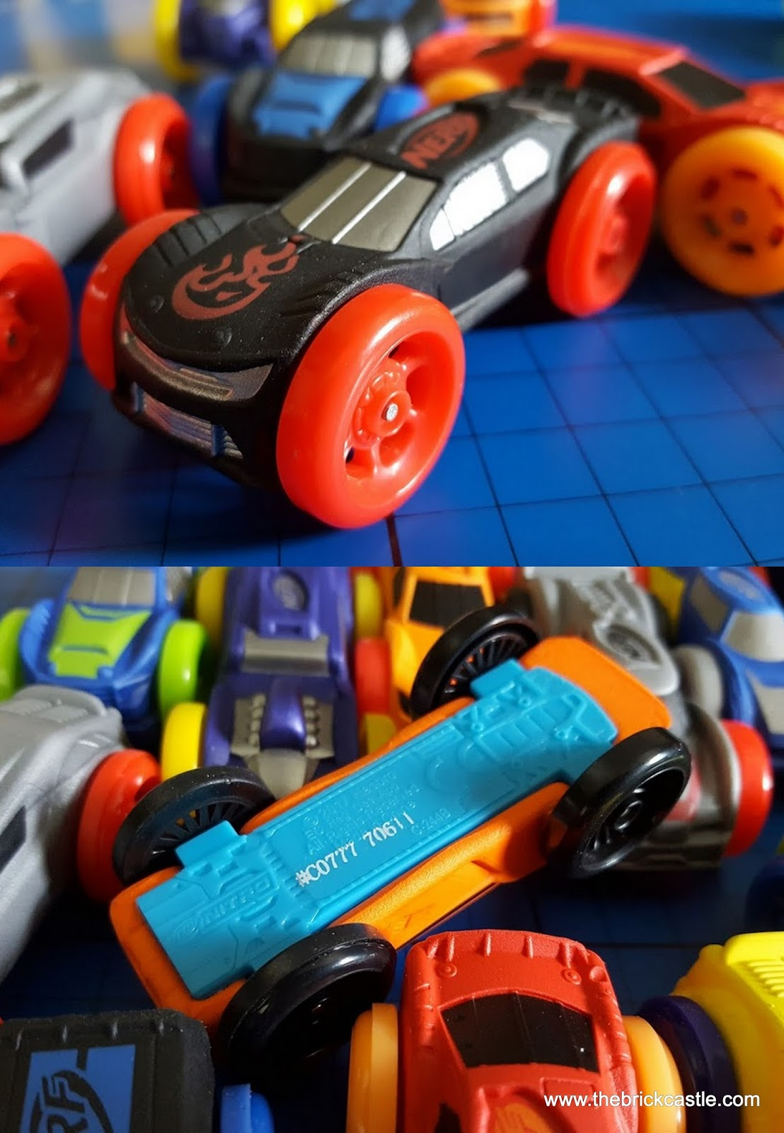 The Brick Castle: Nerf Nitro MotoFury Rapid Rally Review for Hasbro