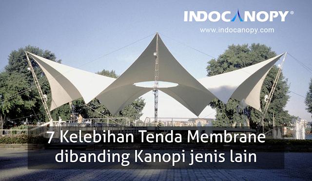 Tenda Membrane Kanopi